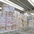 Foto de Stock  : Recycling of waste paper