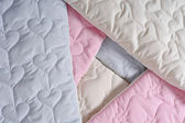 Cotton quilt — Stock Photo