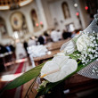 Stock Photo: Wedding detail