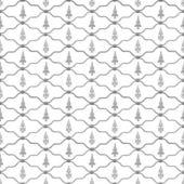 Seamless fleur de lis fence — Stock Photo