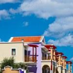 Beautiful arabic hotel — Stock Photo