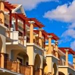 Beautiful arabic hotel — Stock Photo #8655284