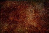 Reddish brown grunge rust metal texture background — Stock Photo