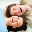 Young couple sharing a moment together — Stock Photo #9428049
