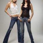 Two pretty women. — Stock Photo