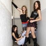 Girls in hallway. — Stock Photo #9224127