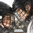 Ice hockey confrontation. — Stock Photo #9224708