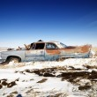 Rusted classic car. — Stock Photo