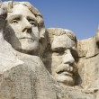 Stock Photo: Faces at Mount Rushmore.