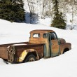 Stock Photo: Old rusted truck.