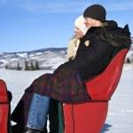 sleigh ride — Stockfoto