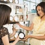Women shopping in store. — Stock Photo