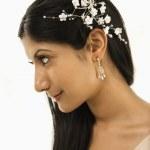 Bridal portrait. — Stock Photo