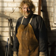 Metalsmith portrait. — Stock Photo