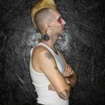 Profile of punk. — Stock Photo #9228140