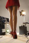 Piernas sexy de mujer. — Foto de Stock
