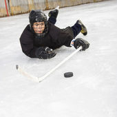 Ice hockey player. — Stock Photo