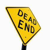 Dead End sign. — Stock Photo
