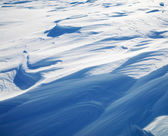 Snow drifts — Stock Photo