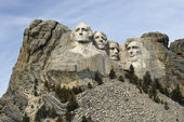 Mount Rushmore Monument. — Stock Photo