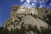 Mount Rushmore sculpture. — Stock Photo