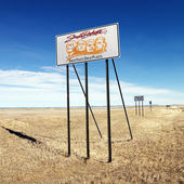 South Dakota sign. — Stock Photo
