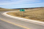 Winding road. — Stock Photo