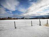 Inverno colorado scenic. — Foto Stock