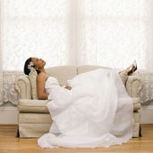 Bridal portrait. — Stock Photo
