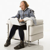 Shakespeare on laptop computer. — Stock Photo