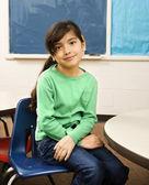 Girl in Classroom — Stock Photo