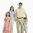 Hispanic family. — Stock Photo #9249290