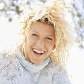 Smiling happy woman — Stock Photo
