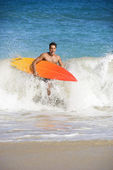 Surfer man. — Stock Photo