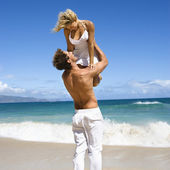 Man holding woman. — Stock Photo