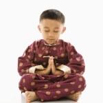 Asian boy in traditional attire. — Stock Photo #9250052
