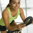 Woman exercising. — Stock Photo #9254445