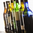 Wine Bottles — Stock fotografie