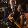 Couple at bar. — Stock Photo #9255622