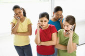 Preteen girls. — Stock Photo
