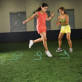 Girl fitness training. — Stock Photo