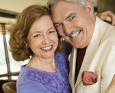 Mature couple portrait. — Stock Photo