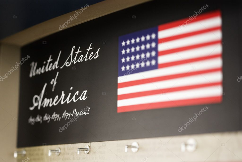 United States of America display.  Stock Photo #9255858
