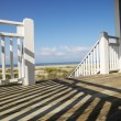 Porch at coast. - Stock Photo