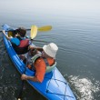Kayakers. - Stock Photo