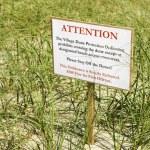 Environmental warning sign. — Stock Photo #9277147