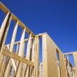 New construction frames. - Stock Photo