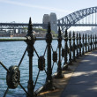 Stock Photo: Sydney Harbour Bridge, Australia.