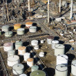 Oil refinery aerial. - Stock Photo