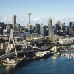 Sydney, Australia aerial. — Stock Photo